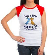 Save a Stray Women's Cap Sleeve T-Shirt