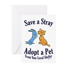Save a Stray Greeting Card
