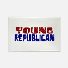 Young Republican Rectangle Magnet