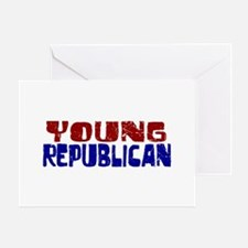 Young Republican Greeting Card