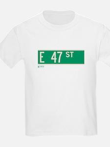 47th Street in NY T-Shirt