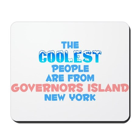 Coolest: Governors Isla, NY Mousepad