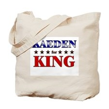 KAEDEN for king Tote Bag