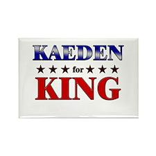 KAEDEN for king Rectangle Magnet