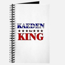 KAEDEN for king Journal