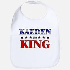 KAEDEN for king Bib