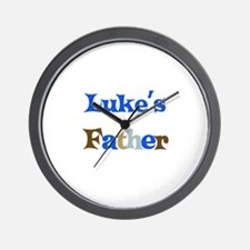 Luke's Father  Wall Clock