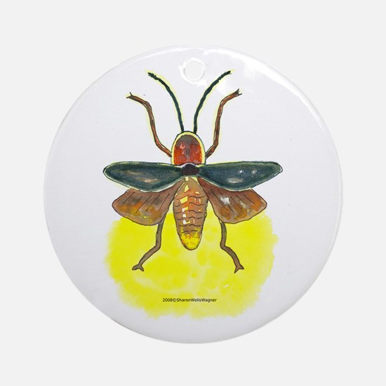 Firefly Ornament (Round)