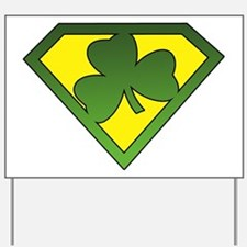 Super Shamrock Yard Sign