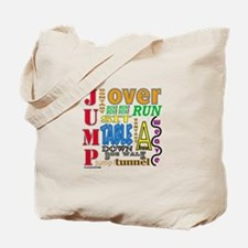 Agility Commands Tote Bag