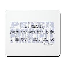 Peter Principle Mousepad