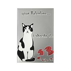 LOL cat Shredz it.. Rectangle Magnet (10 pack)