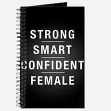 Strong Smart Confident Female Journal