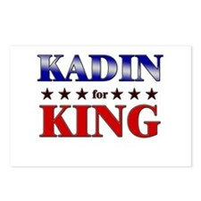 KADIN for king Postcards (Package of 8)