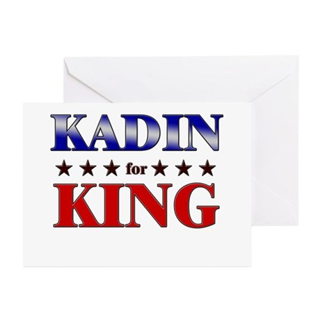KADIN for king Greeting Cards (Pk of 20)