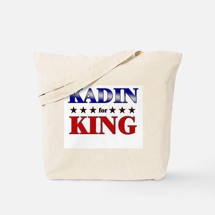 KADIN for king Tote Bag