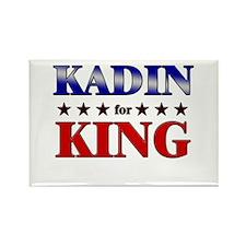 KADIN for king Rectangle Magnet