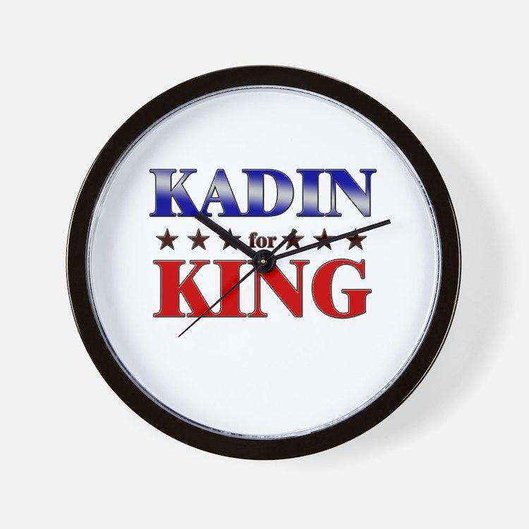 KADIN for king Wall Clock