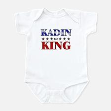 KADIN for king Infant Bodysuit