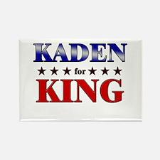 KADEN for king Rectangle Magnet