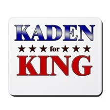 KADEN for king Mousepad