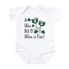 Wee Bit O' Wine Infant Bodysuit
