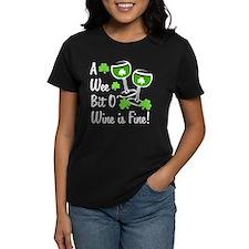 Wee Bit O' Wine Tee