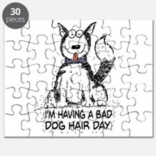 Bad Dog Hair Day Puzzle