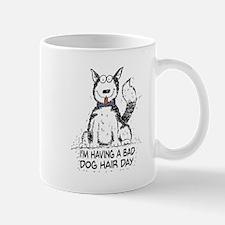 Bad Dog Hair Day Mugs