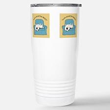 Funny Love that dog Travel Mug