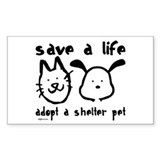 Adopt a shelter pet Single