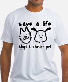 Save a Life - Adopt a Shelter Pet Shirt