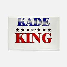 KADE for king Rectangle Magnet