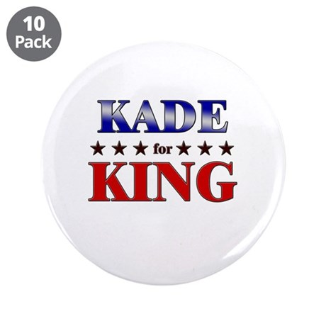 "KADE for king 3.5"" Button (10 pack)"