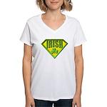 Super Irish Women's V-Neck T-Shirt