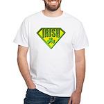 Super Irish White T-Shirt