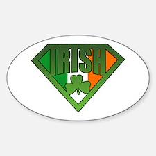 Super Irishman Oval Decal