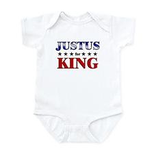 JUSTUS for king Infant Bodysuit
