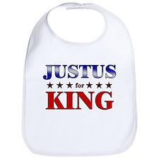JUSTUS for king Bib