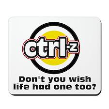 Ctrl-Z: Mousepad