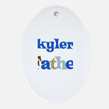 Skyler's Father  Oval Ornament