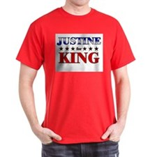 JUSTINE for king T-Shirt