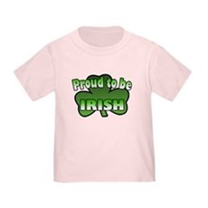 Proud to be Irish Toddler T-Shirt