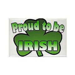 Proud to be Irish Rectangle Magnet