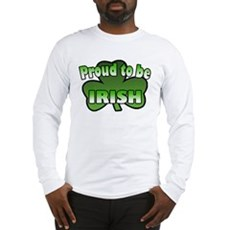 Proud to be Irish Long Sleeve T-Shirt