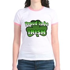 Proud to be Irish Jr. Ringer T-Shirt