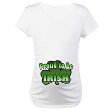 Proud to be Irish Maternity T-Shirt