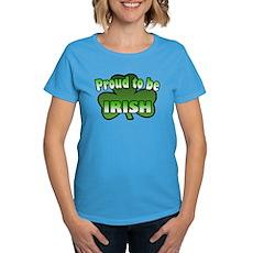 Proud to be Irish Women's Dark T-Shirt