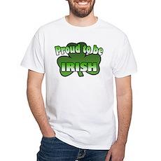 Proud to be Irish White T-Shirt