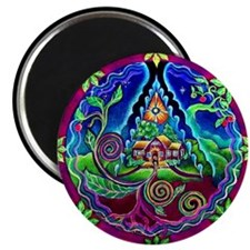 Dream House Mandala Magnet